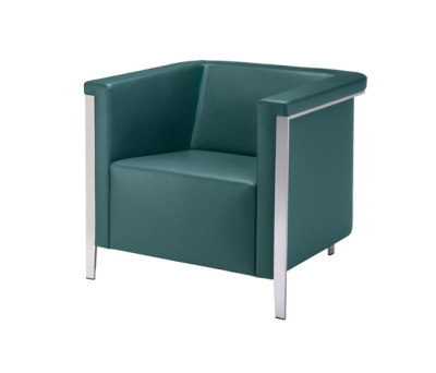 collar Armchair 9051/A by Brunner