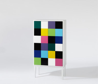 Collect Multicolour Cabinet by A2 designers AB
