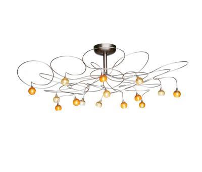 Colorball ceiling light 15 by HARCO LOOR