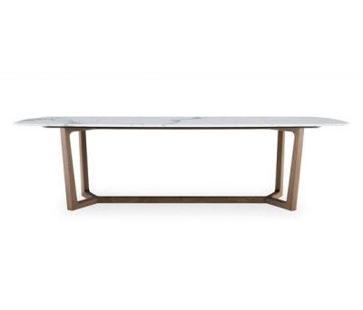 Concorde table by Poliform