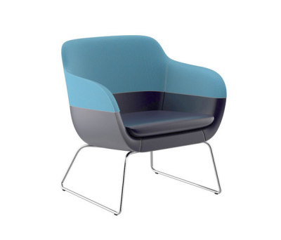 crona Lounge Easy Chair 6385/A by Brunner