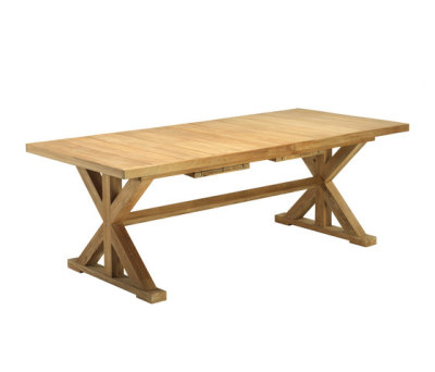 Cronos rectangular table by Ethimo