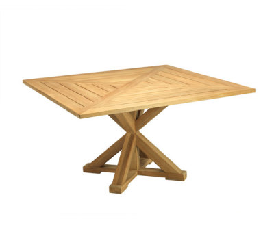 Cronos square table by Ethimo