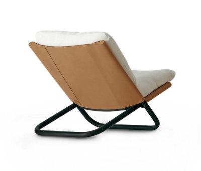 Cross low armchair by ARFLEX