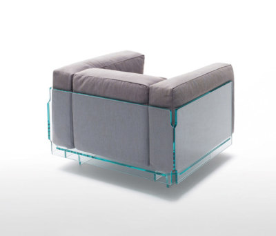 Crystal Lounge by Glas Italia