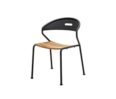 Curve Stacking Chair by Gloster Furniture