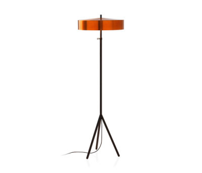 Cymbal 46 floorlamp copper colour by Bsweden