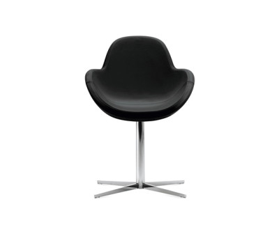 Darling 1 swivel armchair by Frag