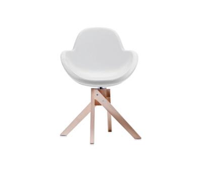 Darling 4 swivel armchair by Frag
