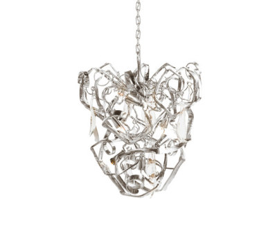Delphinium chandelier conical by Brand van Egmond