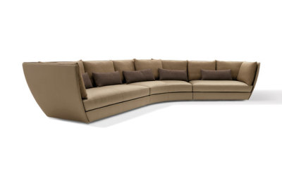 Dhow Sofa by Giorgetti