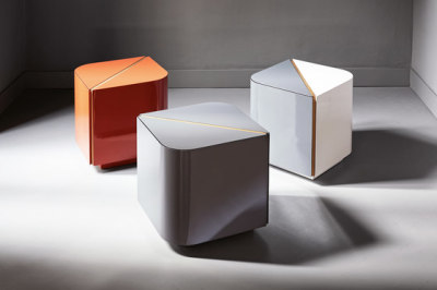 Dimitri Night tables by Meridiani