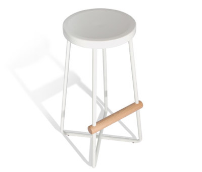 Dixon Dowel Stool Tall by Sauder Boutique