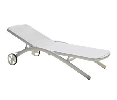 Elite sunlounger wheely by Fast