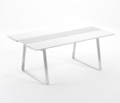 Extrados medium table extendable by EGO Paris