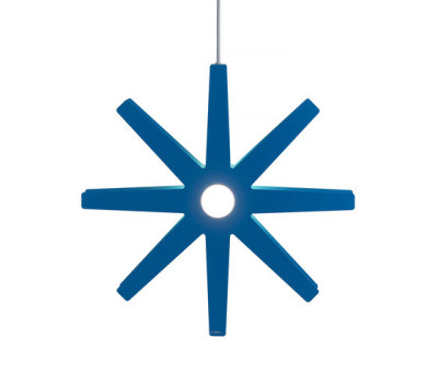 Fling 78 pendant large blue by Bsweden