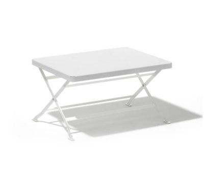 Flip folding sofa table by Lampert