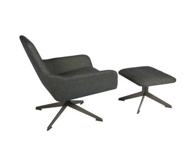 Floyd chair with ottoman by Palau