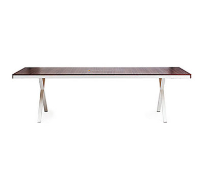 Frame X table by Gärsnäs