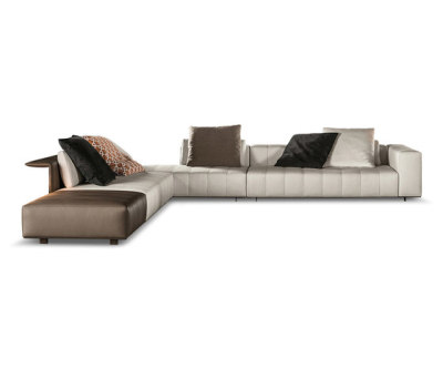 Freeman Tailor Sofa by Minotti