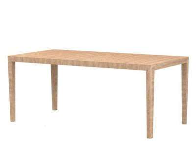 Friends rectangular table by Ethimo