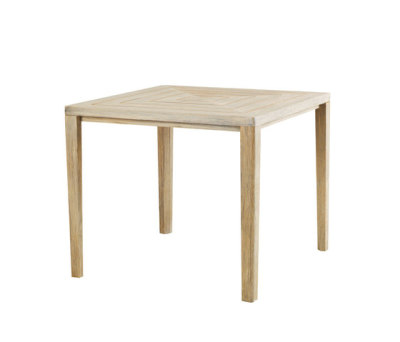 Friends square table by Ethimo