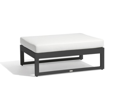 Fuse large footstool/sidetable by Manutti