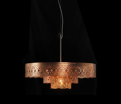 Gladys Chandelier copper by Bsweden