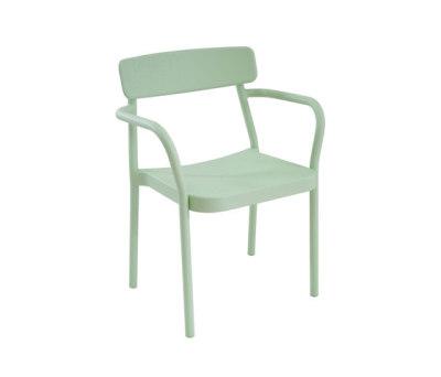 Grace armchair - set of 4 Mint Green