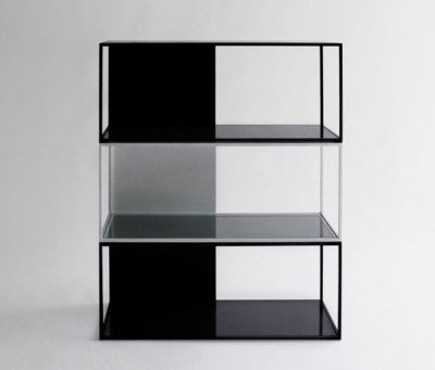 Half & Half Shelving by Phase Design