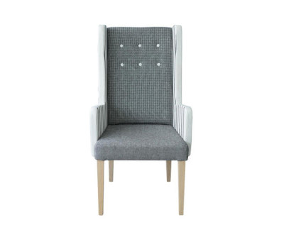 Harper Alto Side Chair with arms by Designers Guild