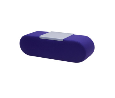 Heart pouf large by Softline A/S