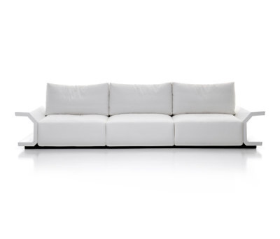 Hi-Icaro | 3-seater sofa by Mussi Italy