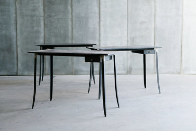 Hide desk by Heerenhuis