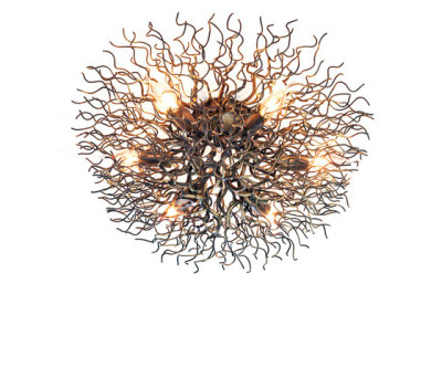 Hollywood ceiling lamp round by Brand van Egmond