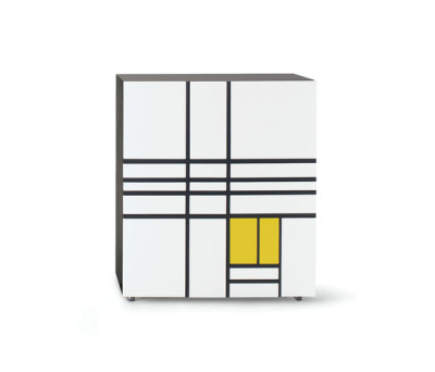 Homage to Mondrian 1 by Cappellini