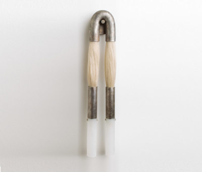 Horse Hair Sconce by Apparatus