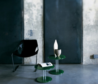 Hub occasional table by Glas Italia