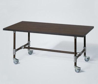 Industrie table by Lambert