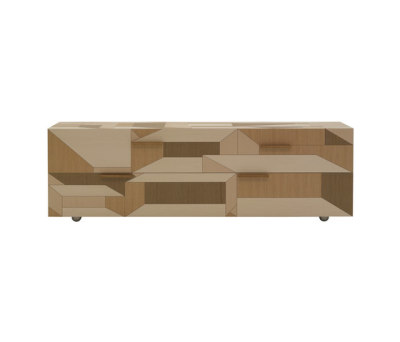Inlay Chest of drawers by Porro