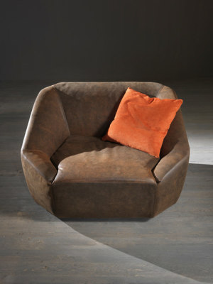 Inline armchair by My home collection