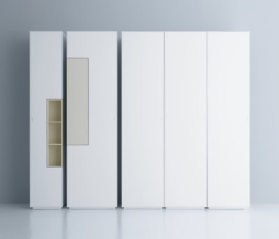 Inmotion wall system by MDF Italia