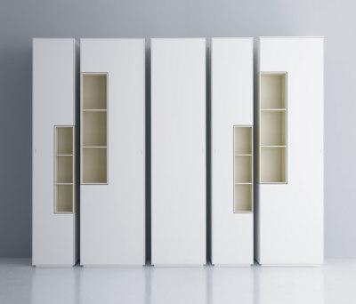 Inmotion wall system by MDF Italia