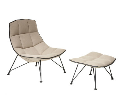 Jehs & Laub Lounge Chair & Ottoman by Knoll International