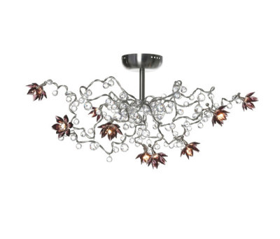 Jewel Diamond ceiling light 9-amethyst by HARCO LOOR