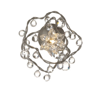 Jewel Diamond wall lamp 1-transparent by HARCO LOOR