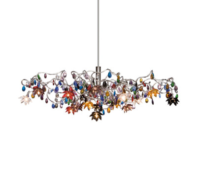 Jewel pendant light 15-multicolor by HARCO LOOR