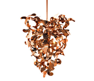 Kelp chandelier conical by Brand van Egmond