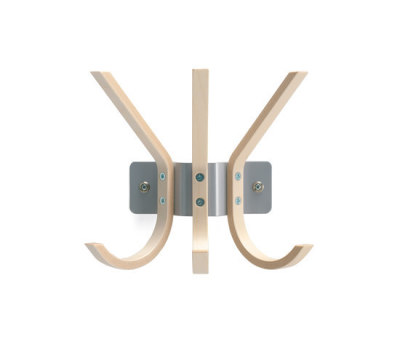 Krokus coat hanger by Materia