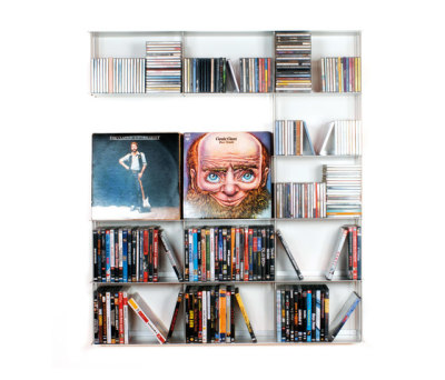 Krossing - Wall system CD rack by Kriptonite